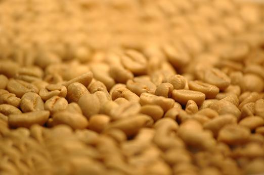 Natürlich aufbereiteter Rohkaffee, natural